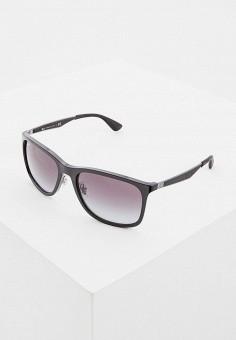 Очки солнцезащитные, Ray-Ban®, цвет  черный. Артикул  RA014DMDBEF0. ce15edfc30f