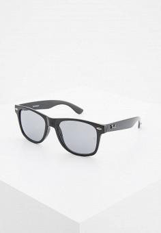 Очки солнцезащитные, Ray-Ban®, цвет  черный. Артикул  RA014DMGER24. 61dc7abeb0b