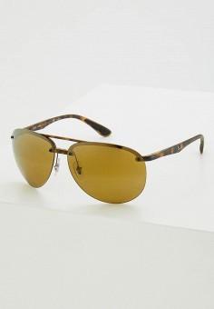 Очки солнцезащитные, Ray-Ban®, цвет  коричневый. Артикул  RA014DMZCF12. 926c8acdd8e