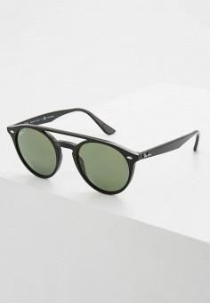 Очки солнцезащитные, Ray-Ban®, цвет  черный. Артикул  RA014DUQBS27. ad07ac23d7