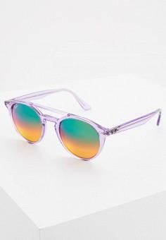 Очки солнцезащитные, Ray-Ban®, цвет  фиолетовый. Артикул  RA014DUQBS53. 681d024cc0e