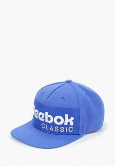 2bf0118f6dde Бейсболка, Reebok Classics, цвет  синий. Артикул  RE005CUEDXU2. Аксессуары
