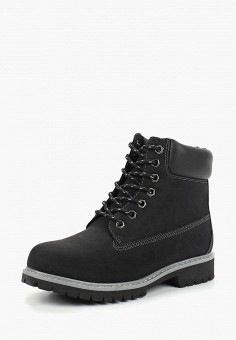 Ботинки, Reflex, цвет  черный. Артикул  RE024AWCRKI3. Обувь   Ботинки   2f724380ac6