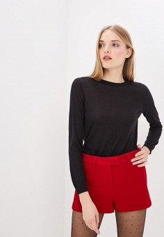 Джемпер, Red Valentino, цвет: черный. Артикул: RE025EWDKUX7. Red Valentino