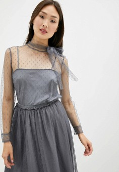 Комплект, Red Valentino, цвет: серый. Артикул: RE025EWGMVV1. Red Valentino
