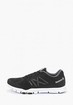 69b37636 Кроссовки, Reebok, цвет: черный. Артикул: RE160AMEHJM7. Обувь / Кроссовки и