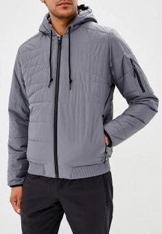 905fc8ac3bd8 Куртка утепленная, Reebok, цвет  серый. Артикул  RE160EMCDMG2. Одежда    Верхняя