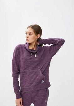 ef1fdf2d Худи, Reebok, цвет: фиолетовый. Артикул: RE160EWEEBB3. Одежда / Толстовки и