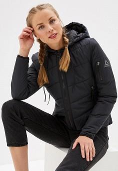 ed5bc7c3980911 Куртка утепленная, Reebok, цвет: черный. Артикул: RE160EWFKLY0. Спорт / Все