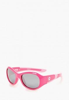 Очки солнцезащитные, Reima, цвет  розовый. Артикул  RE883DGDVPL3. Девочкам    Аксессуары 47aba924ea7