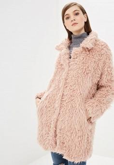 Шуба, Rinascimento, цвет  розовый. Артикул  RI005EWCCFQ9. Одежда 63565c48472