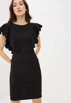 8f5efc684a4543e Платье, Rinascimento, цвет: черный. Артикул: RI005EWEDTK9. Одежда / Платья и