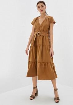 8ed8297e5edaec9 Платье, Rinascimento, цвет: коричневый. Артикул: RI005EWFDKE1. Rinascimento