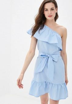 37a9ad8b6282459 Платье, Rinascimento, цвет: голубой. Артикул: RI005EWFDKH6. Rinascimento