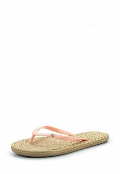 30f73b908485 Сланцы, Roxy, цвет  розовый. Артикул  RO165AWAKDA6. Обувь   Резиновая обувь
