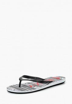 55c57341774c Сланцы, Roxy, цвет  черный. Артикул  RO165AWPFT21. Обувь   Резиновая обувь