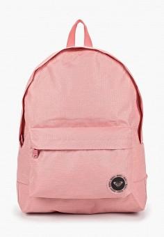 10198e5730aa Рюкзак, Roxy, цвет: розовый. Артикул: RO165BWEDMV4. Аксессуары / Рюкзаки