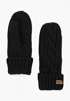 edf43e29891d Варежки, Roxy, цвет  черный. Артикул  RO165DWCFHP9. Аксессуары   Перчатки и
