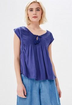 a4c313197bec4fd Блуза, Roxy, цвет: синий. Артикул: RO165EWAKFI1. Спорт / Все спортивные