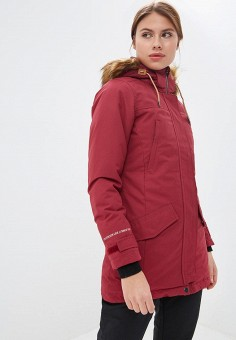 9ea1b0b1 Парка, Rukka, цвет: бордовый. Артикул: RU006EWDLSV9. Одежда / Верхняя одежда