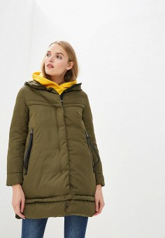 987c6a932454a Куртка утепленная, Savage, цвет: хаки. Артикул: SA004EWCMVD2. Одежда /  Верхняя