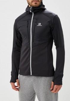 9995a93eff8a Куртка утепленная, Salomon, цвет  черный. Артикул  SA007EMBOIG9. Одежда
