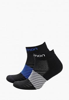 178bcdba66cd1 Комплект, Salomon, цвет: серый, синий. Артикул: SA007FMDSMV7. Спорт /