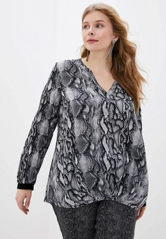 Блуза, Samoon by Gerry Weber, цвет: серый. Артикул: SA037EWGEHR5. Samoon by Gerry Weber
