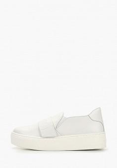 4dc1a6303 Слипоны, Schutz, цвет: белый. Артикул: SC963AWDOZK2. Обувь / Слипоны