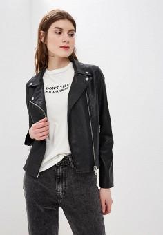 Купить женские кожаные куртки от 999 руб в интернет-магазине Lamoda.ru! 96f3ab4a6b368