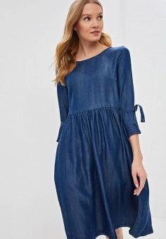 b35f1a726ecd Платье джинсовое, Sela, цвет  синий. Артикул  SE001EWDTTO8. Одежда   Платья