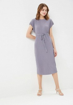 d57ca0e6d116c Платье, Sela, цвет: серый. Артикул: SE001EWDTTR1. Одежда / Платья и