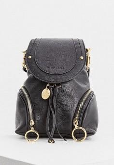cf5cd63f8350 Рюкзак, See by Chloe, цвет: черный. Артикул: SE011BWBORS7. Аксессуары /