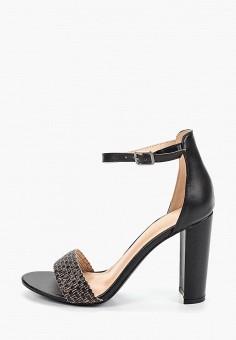 9ea8db20f67aba Босоножки, Sergio Todzi, цвет: черный. Артикул: SE025AWFEQU7. Обувь