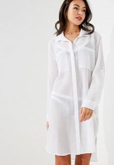 d1d72421bde696f Платье пляжное, Seafolly Australia, цвет: белый. Артикул: SE036EWACIS4.