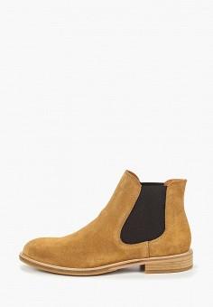9da04bcff Ботинки, Selected Homme, цвет: коричневый. Артикул: SE392AMDKCM1. Обувь /  Ботинки