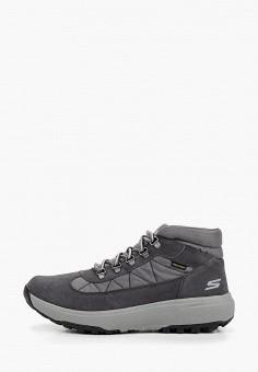 2e92f409e Ботинки, Skechers, цвет: серый. Артикул: SK261AMCPTW8. Спорт / Все  спортивные