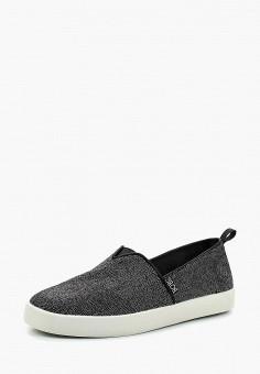 Слипоны, Skechers, цвет  черный. Артикул  SK261AWAUES1. Обувь   Слипоны 1d62baeb101