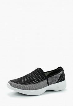 Слипоны, Skechers, цвет  серый. Артикул  SK261AWAUFB5. Обувь   Слипоны 188f6a23397