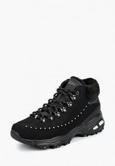 Кроссовки, Skechers, цвет  черный. Артикул  SK261AWCPUE2. Обувь   Кроссовки  и f67e77c4473