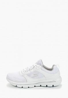 711e1eea Кроссовки, Skechers, цвет: белый. Артикул: SK261AWEJSK6. Обувь / Кроссовки и