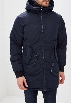 a35769f7c5fd Куртка утепленная, Springfield, цвет: синий. Артикул: SP014EMCDAI1. Одежда  / Верхняя