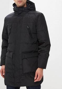 Пуховик, Springfield, цвет  черный. Артикул  SP014EMCDCD3. Одежда   Верхняя  одежда d73707e9723