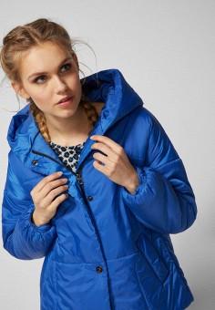 77ecd8b616ad Куртка утепленная, Springfield, цвет  синий. Артикул  SP014EWEAII9. Одежда    Верхняя