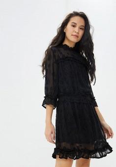 Платье, Sparkz Copenhagen, цвет  черный. Артикул  SP030EWDFVR4. Одежда    Платья 28956d9ba5a