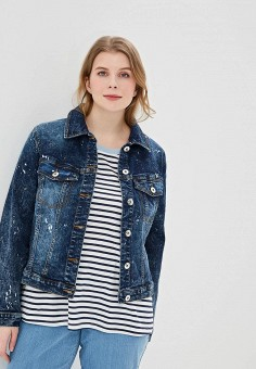 d3c20534f97 Купить женские джинсовые куртки больших размеров Studio Untold ...