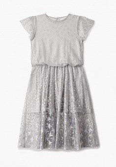 Платье, Stella McCartney Kids, цвет: серый. Артикул: ST052EGECFO4. Stella McCartney Kids
