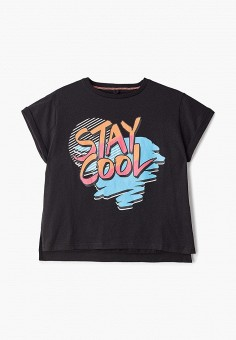 Футболка, Stella McCartney Kids, цвет: черный. Артикул: ST052EGECFP3. Stella McCartney Kids