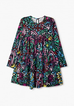Платье, Stella McCartney Kids, цвет: мультиколор. Артикул: ST052EGKTSV6. Девочкам / Stella McCartney Kids