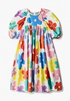 Платье, Stella McCartney Kids, цвет: мультиколор. Артикул: ST052EGLYFJ0. Девочкам / Stella McCartney Kids